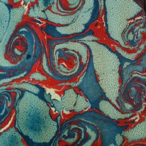 Papier marbre coquille-SylvieHournon-1