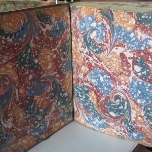 Papier marbre coquille-SylvieHournon-14