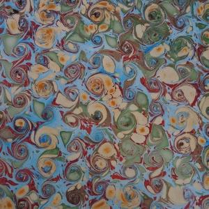 Papier marbre coquille-SylvieHournon-15