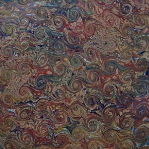 Papier marbre coquille-SylvieHournon-21