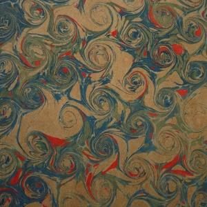 Papier marbre coquille-SylvieHournon-26