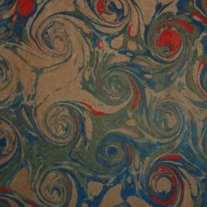 Papier marbre coquille-SylvieHournon-27