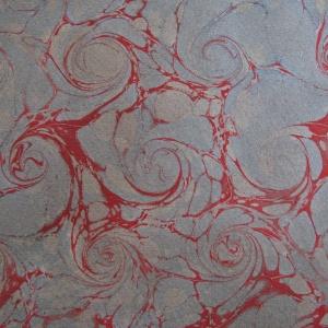 Papier marbre coquille-SylvieHournon-8