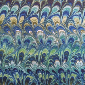 Papier marbre peigne-SylvieHournon-11