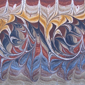 Papier marbre peigne-SylvieHournon-13