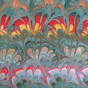 Papier marbre peigne-SylvieHournon-16