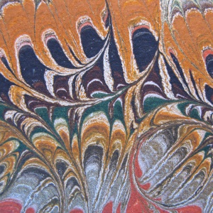 Papier marbre peigne-SylvieHournon-2