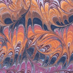Papier marbre peigne-SylvieHournon-21