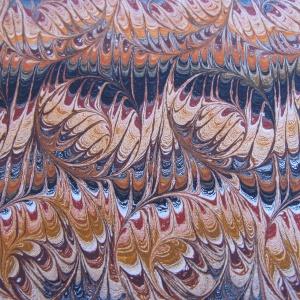 Papier marbre peigne-SylvieHournon-23