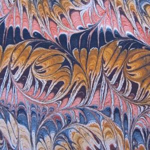 Papier marbre peigne-SylvieHournon-24