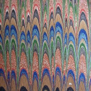 Papier marbre peigne-SylvieHournon-25