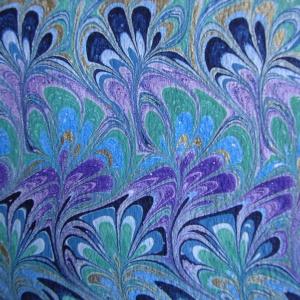 Papier marbre peigne-SylvieHournon-27