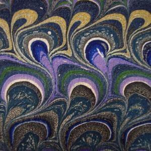 Papier marbre peigne-SylvieHournon-28