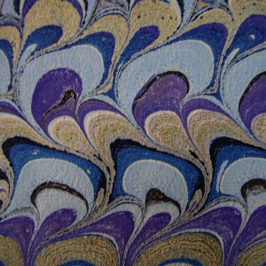 Papier marbre peigne-SylvieHournon-29