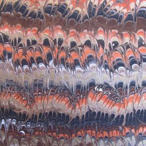 Papier marbre peigne-SylvieHournon-3