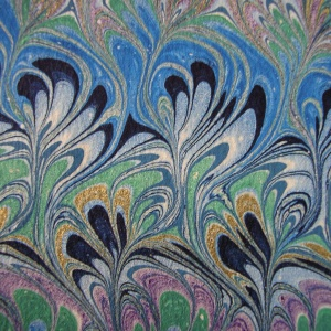 Papier marbre peigne-SylvieHournon-30