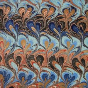 Papier marbre peigne-SylvieHournon-32