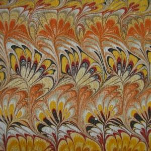 Papier marbre peigne-SylvieHournon-35