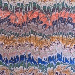 Papier marbre peigne-SylvieHournon-38