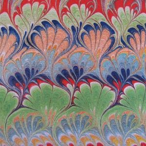 Papier marbre peigne-SylvieHournon-6