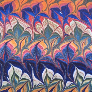 Papier marbre peigne-SylvieHournon-7