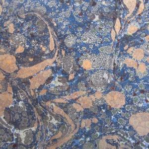 Papier marbre ramage-SylvieHournon-10