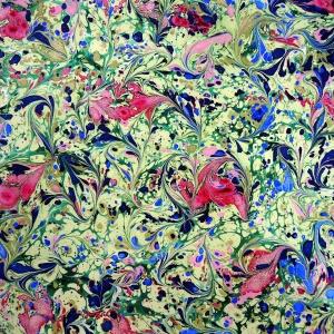 Papier marbre ramage-SylvieHournon-13