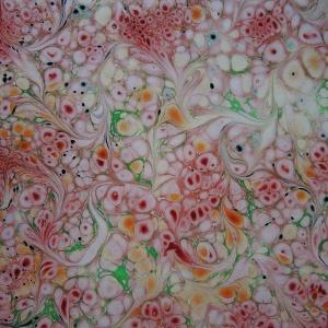 Papier marbre ramage-SylvieHournon-14