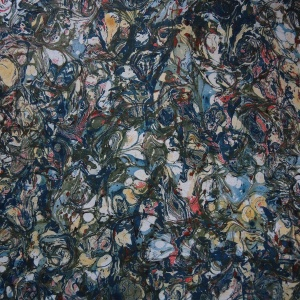 Papier marbre ramage-SylvieHournon-22