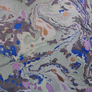 Papier marbre ramage-SylvieHournon-3