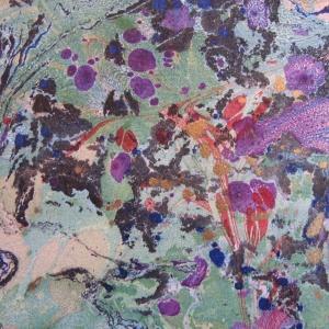 Papier marbre ramage-SylvieHournon-7